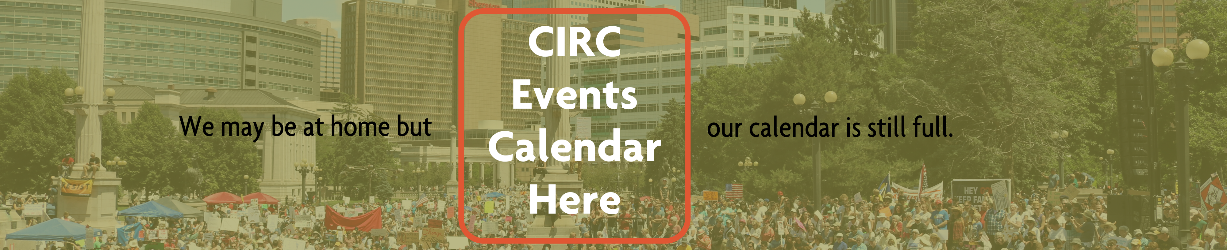 CIRC Events Calendar image