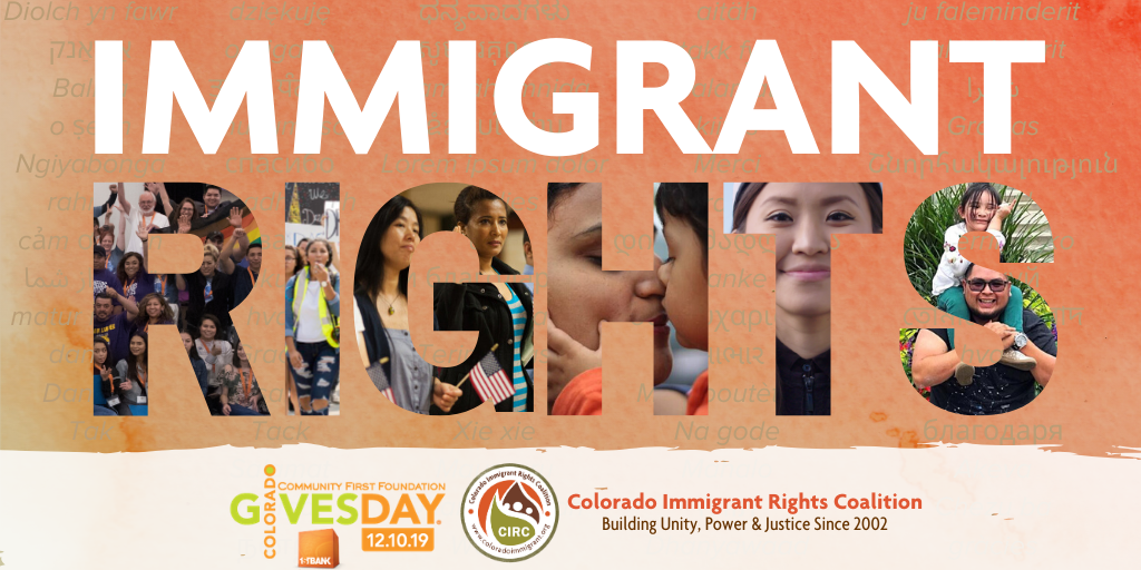 Colorado Gives Day – CO Gives for Immigrant Rights