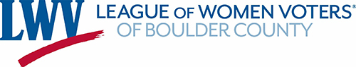 League of Women Voters of Boulder County logo