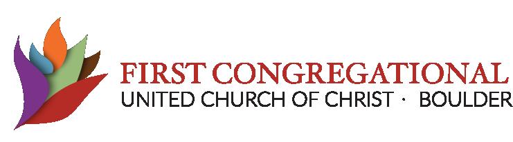 First congregational united church of christ boulder logo