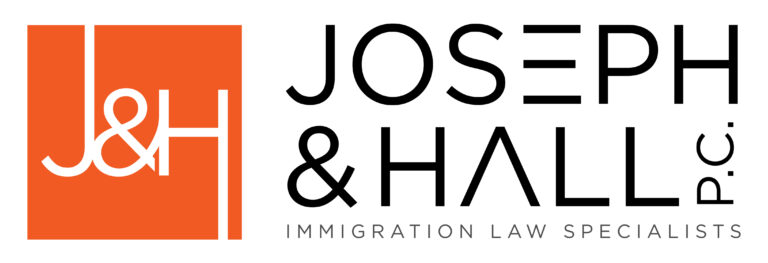 Joseph and Hall P.C. Immigration law specialists logo