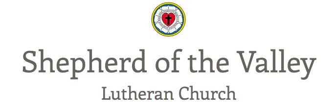Shepherd of the Valley logo