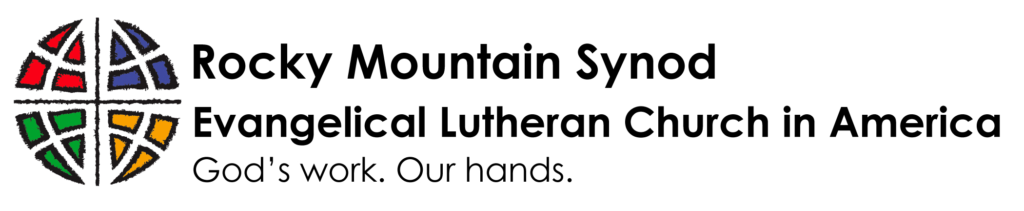 Rocky Mountain Synod Evangelical Lutheran Church in America logo