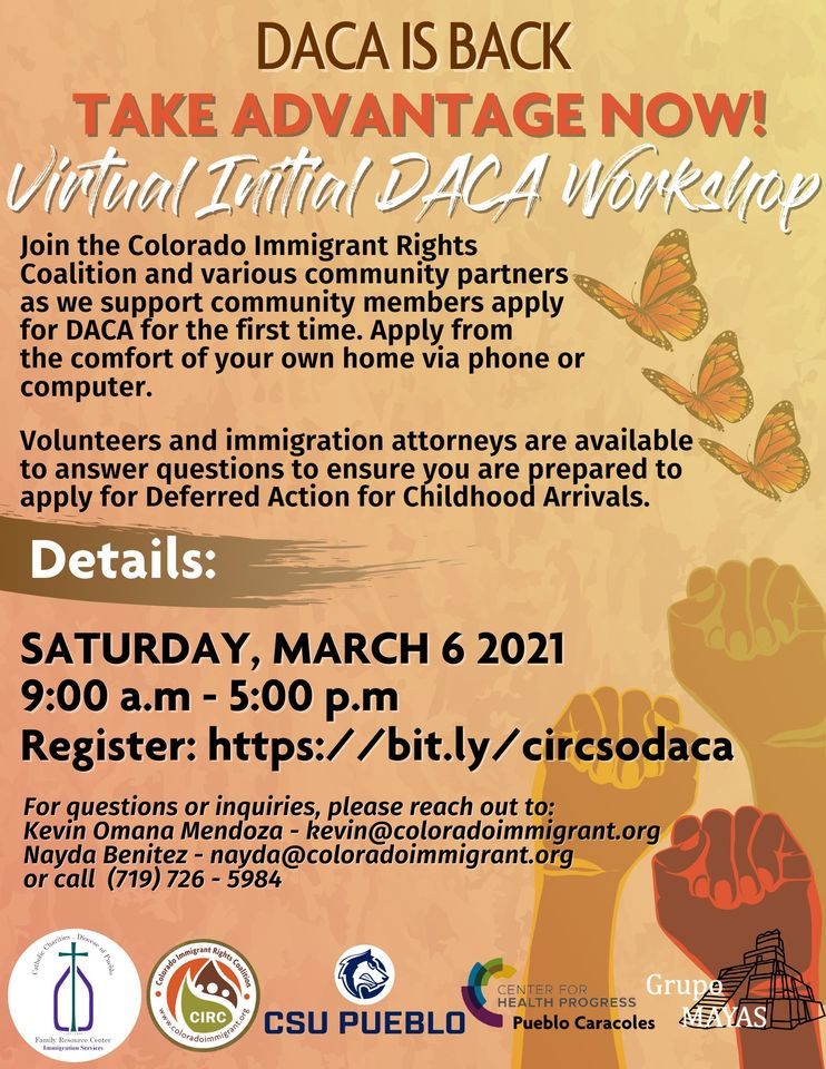 Virtual DACA workshop