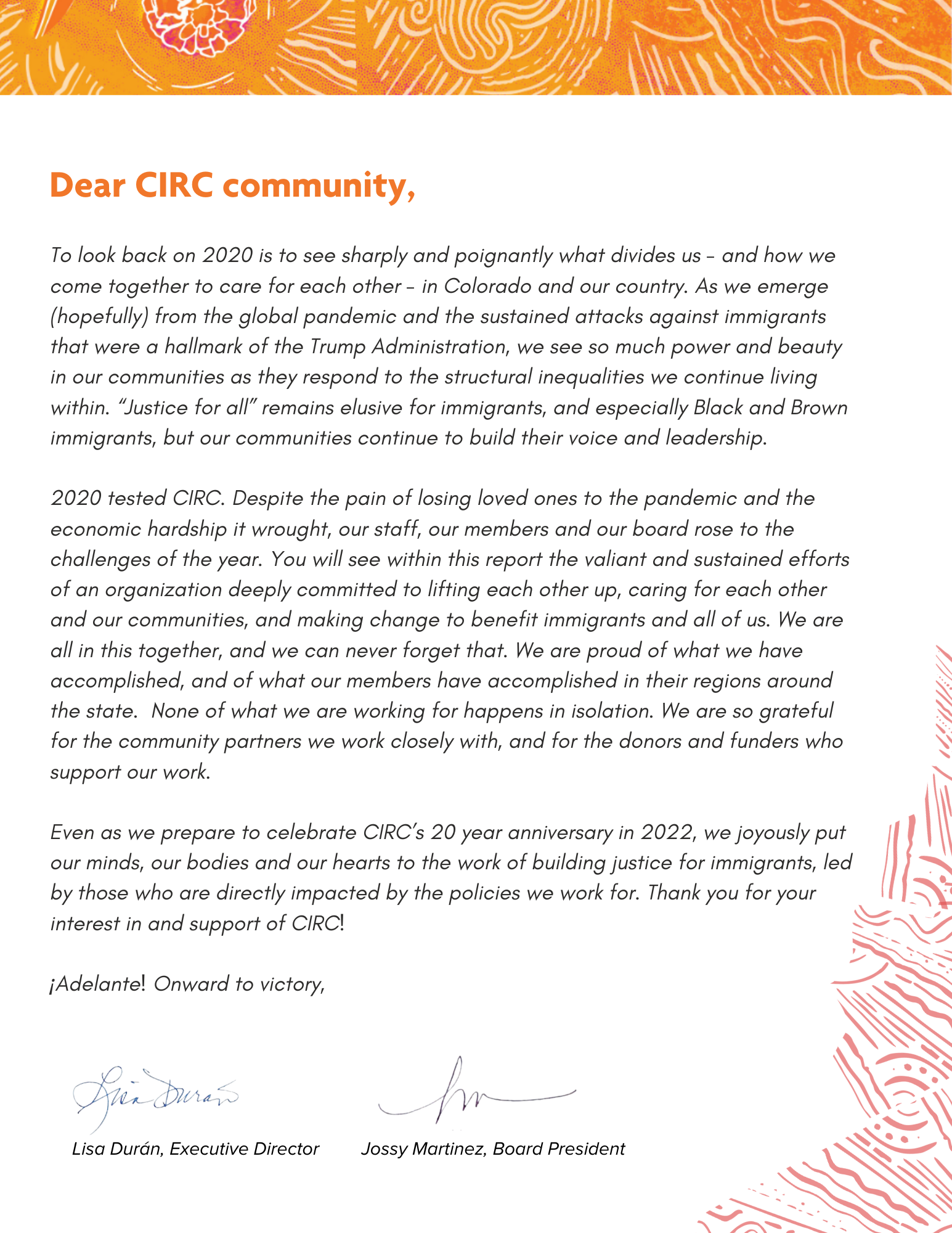 CIRC Annual Report in PNG form (choose above link to access report as PDF or plain text)