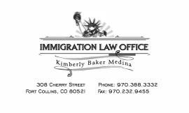 Kimberly Baker Medina Immigration Law Office